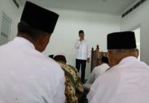 Wagub saat mengunjungi Masjid Agung Serdangbedagai di Desa Firdaus Kecamatan Sei Rampah, Serdang Bedagai. (mimbar/ist)