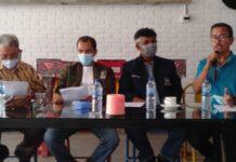 Tim Pemenangan Vandiko-Martua, menyampaikan terimakasih kepada seluruh masyarakat Samosir. (Robin)