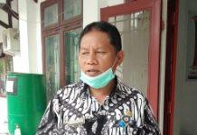 Mantan Kadis Dukcapil Kabupaten Samosir, Lemen Manurung. (Robin Nainggolan)