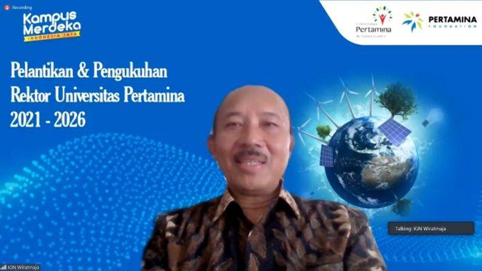 Rektor Baru Universitas Pertamina