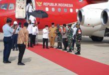 Wapres tiba di Sumatera Barat